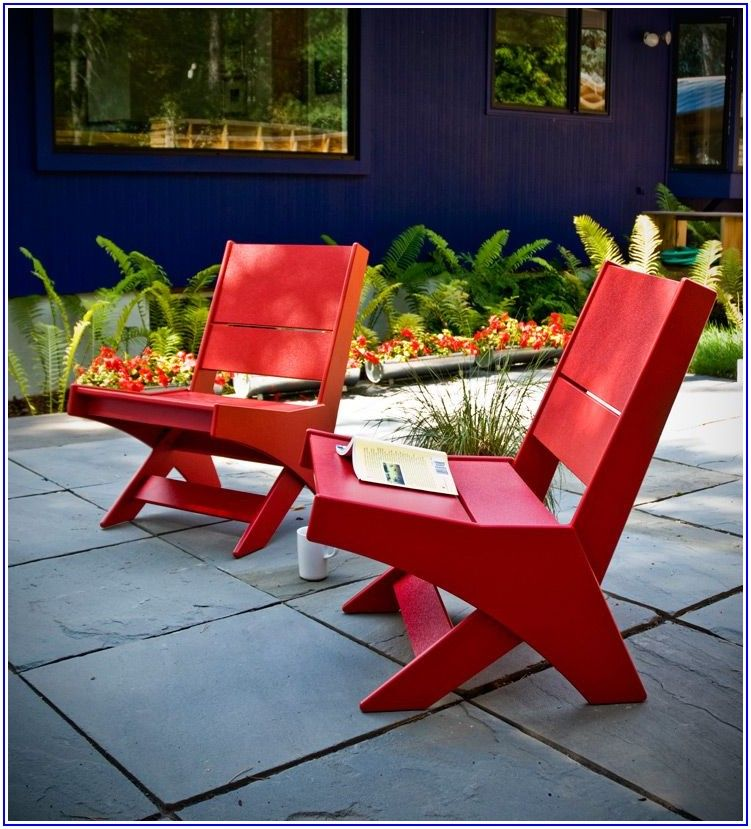 Outdoor Patio Furniture Made From Recycled Plastic