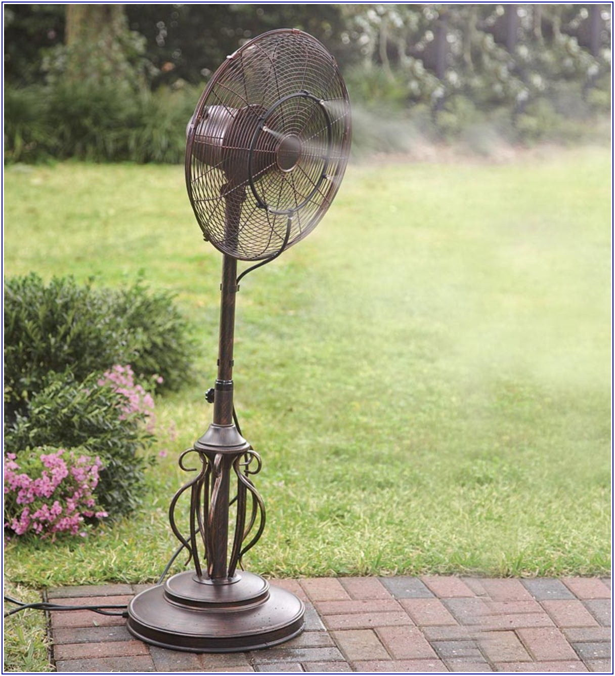 Outdoor Patio Misting Fan