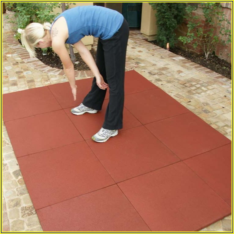 Outdoor Patio Rubber Mats