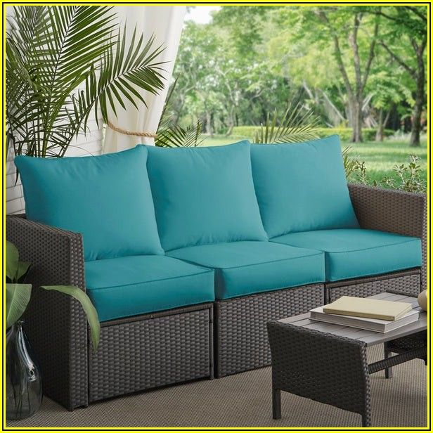 Outdoor Patio Sofa Cushions