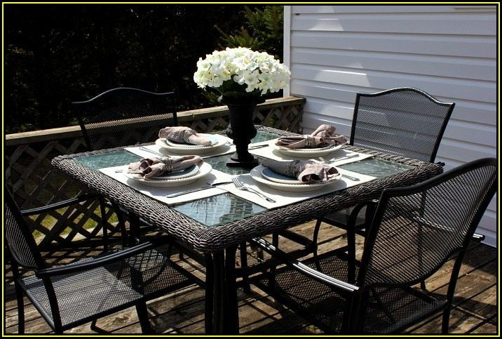 Outdoor Patio Table Placemats