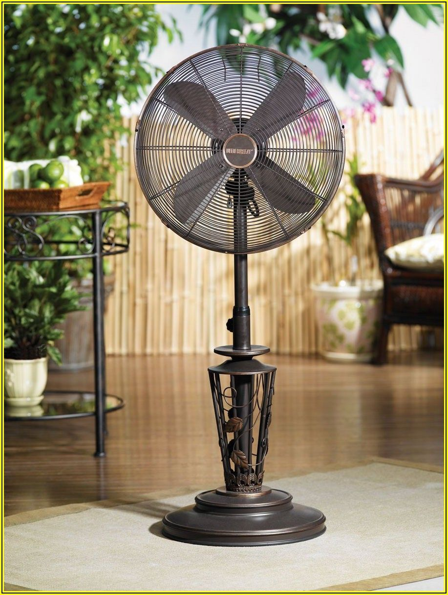 Outdoor Standing Fans Patio