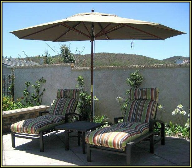 Oval Shaped Patio Umbrella