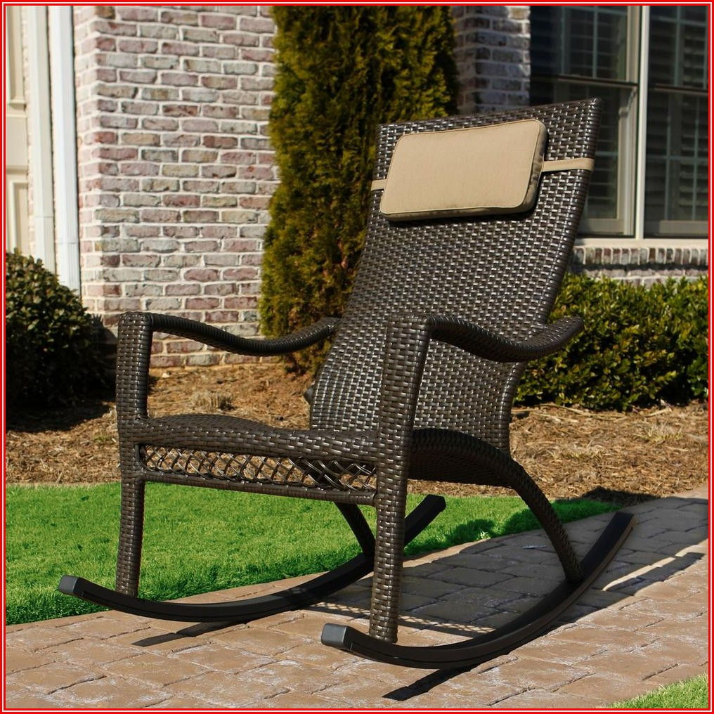 Oversized Patio Rocking Chairs
