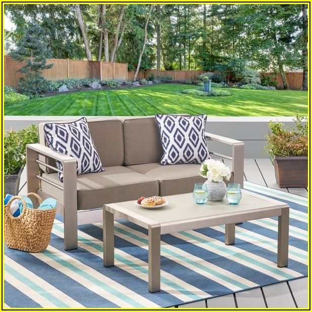 Overstock Aluminum Patio Furniture