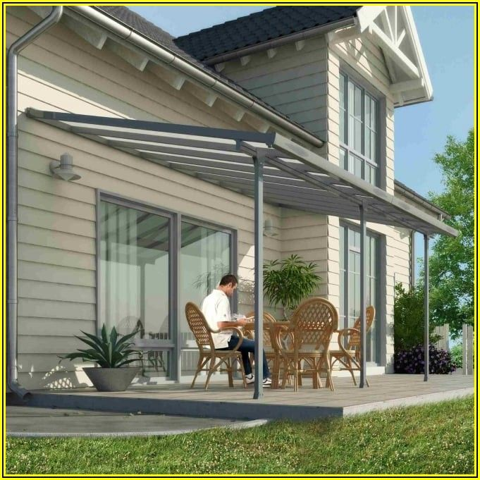 Palram Feria Gray Patio Cover