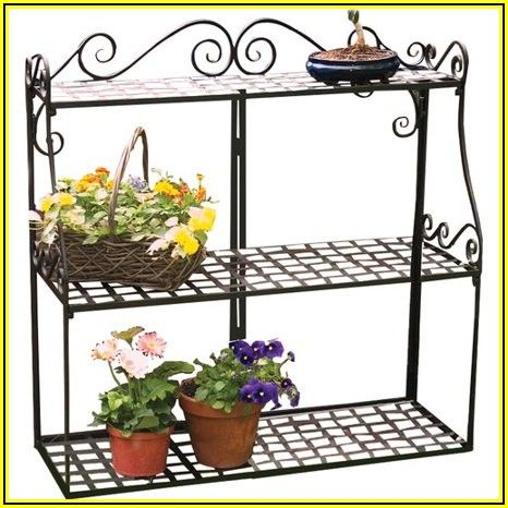Panacea Patio And Garden Plant Stand