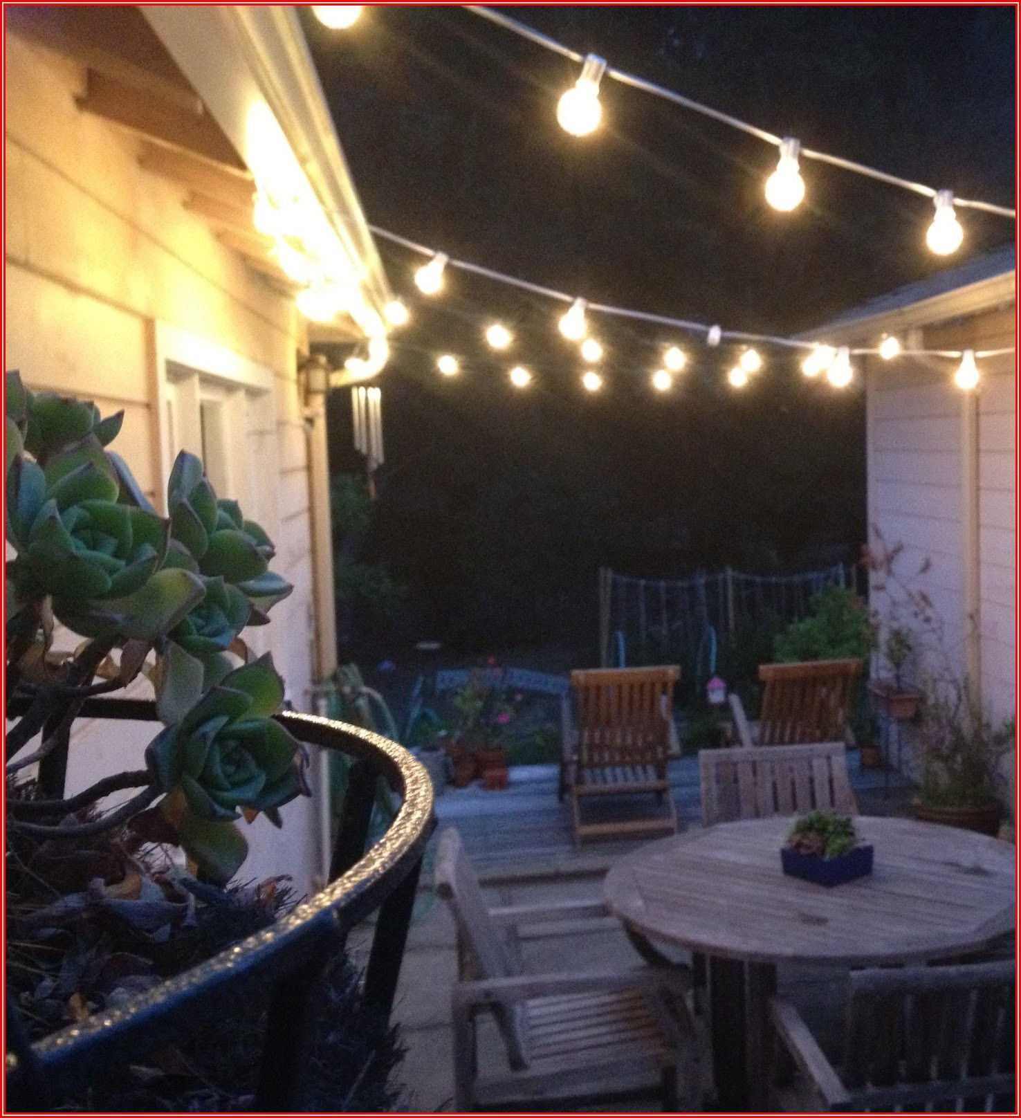 Patio And Garden String Lights Set