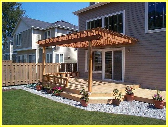 Patio Attached To House Ideas