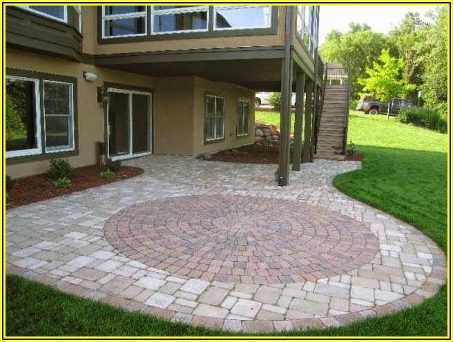 Patio Brick Design Patterns
