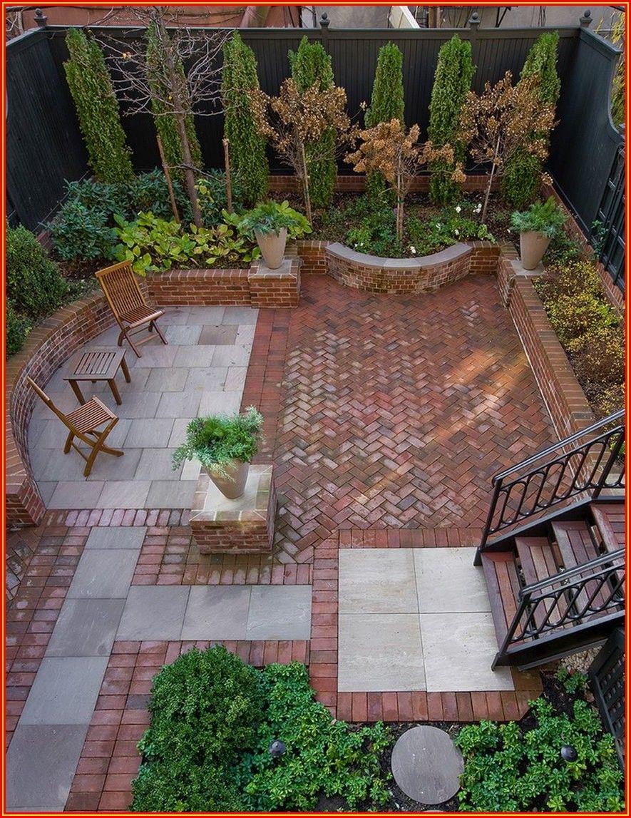 Patio Brick Patterns Ideas