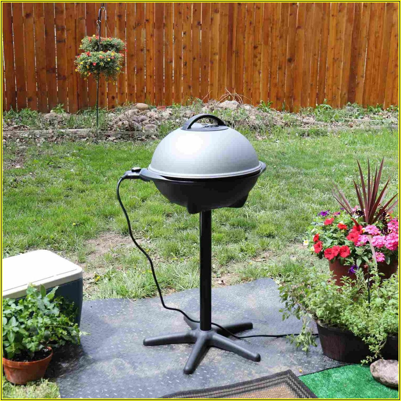 Patio Caddie Electric Grill