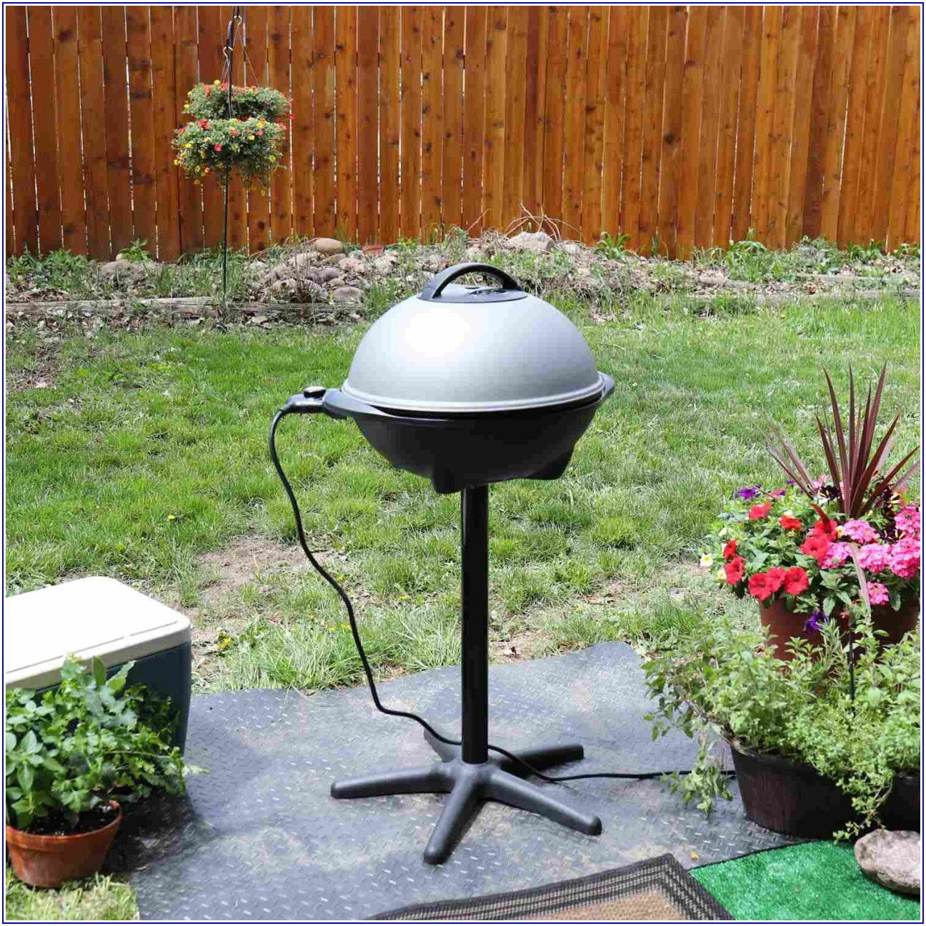 Patio Caddie Grill Electric
