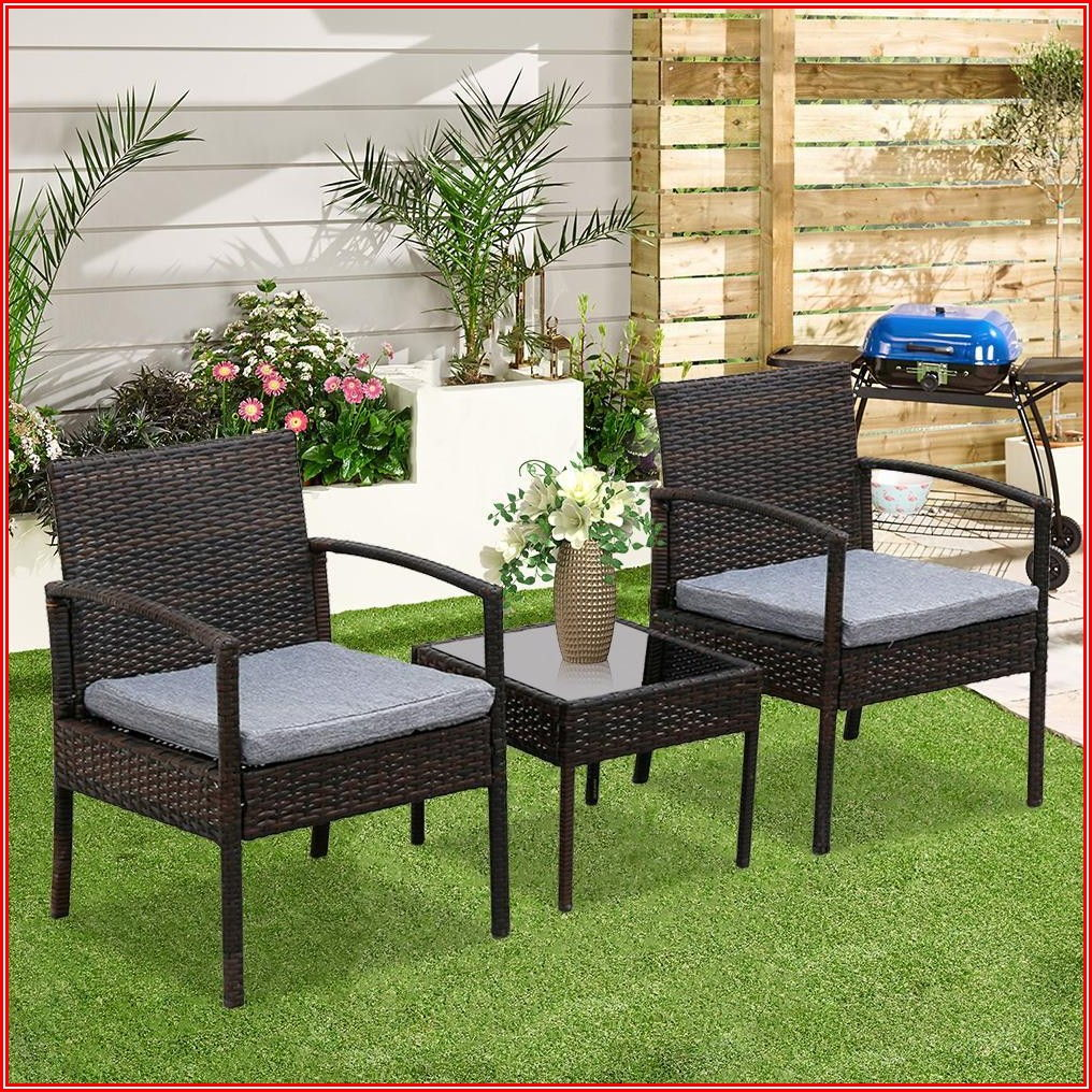 Patio Complete 3 Piece Outdoor Cushion Set