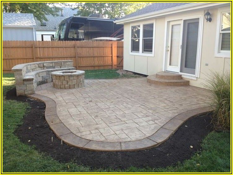 Patio Concrete Designs Pictures