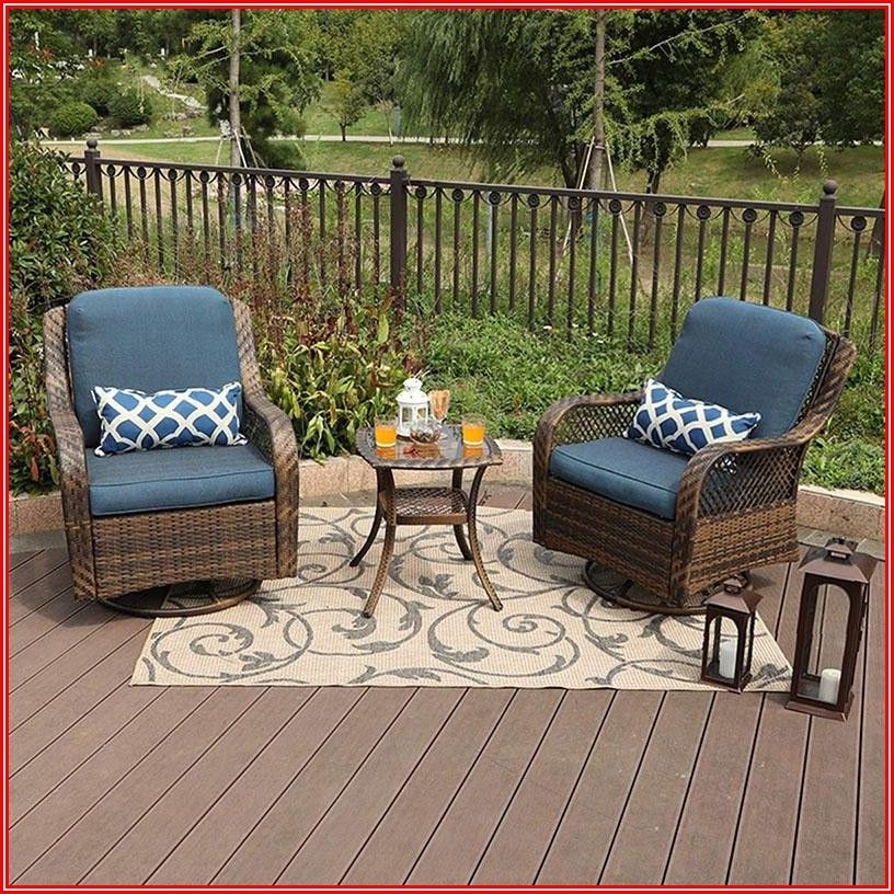Patio Conversation Sets With Rocker Chairs