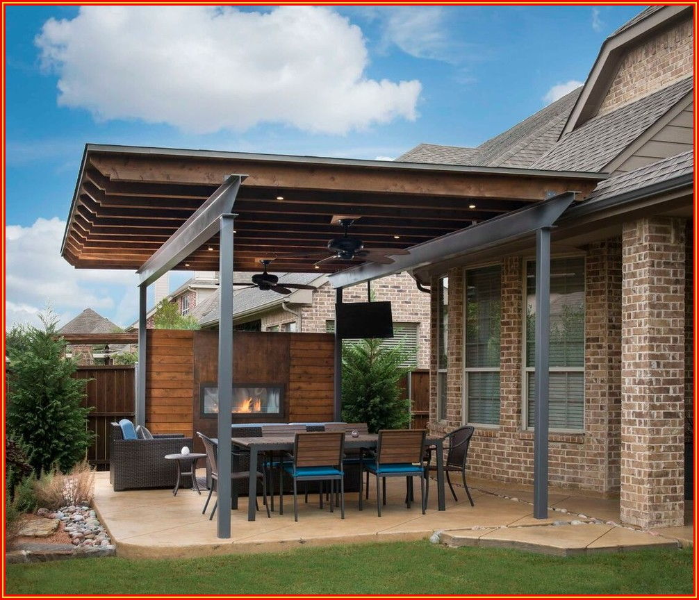 Patio Cover Extension Ideas