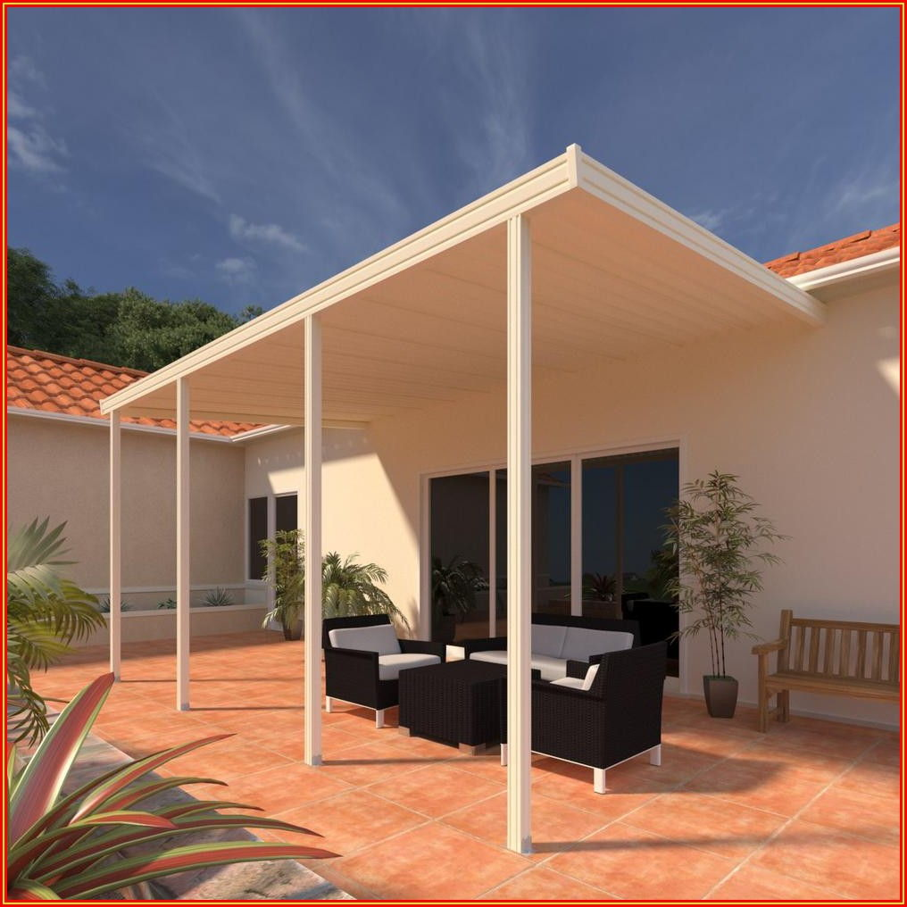 Patio Cover With Clear Roof