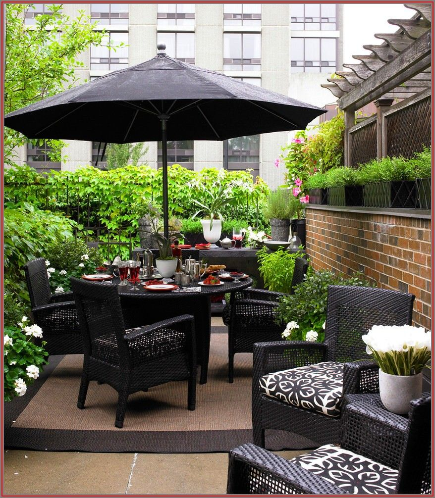 Patio Deck Small Deck Decorating Ideas