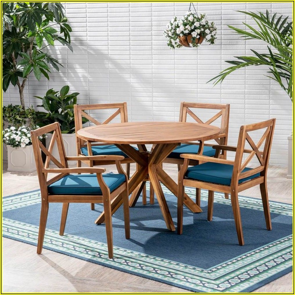 Patio Dining Sets Blue