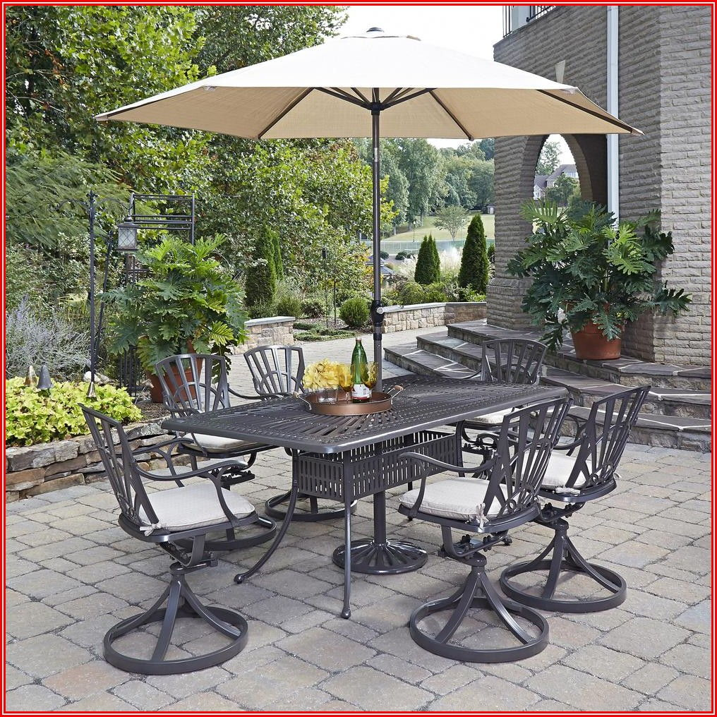 Patio Dining Sets Tile Top