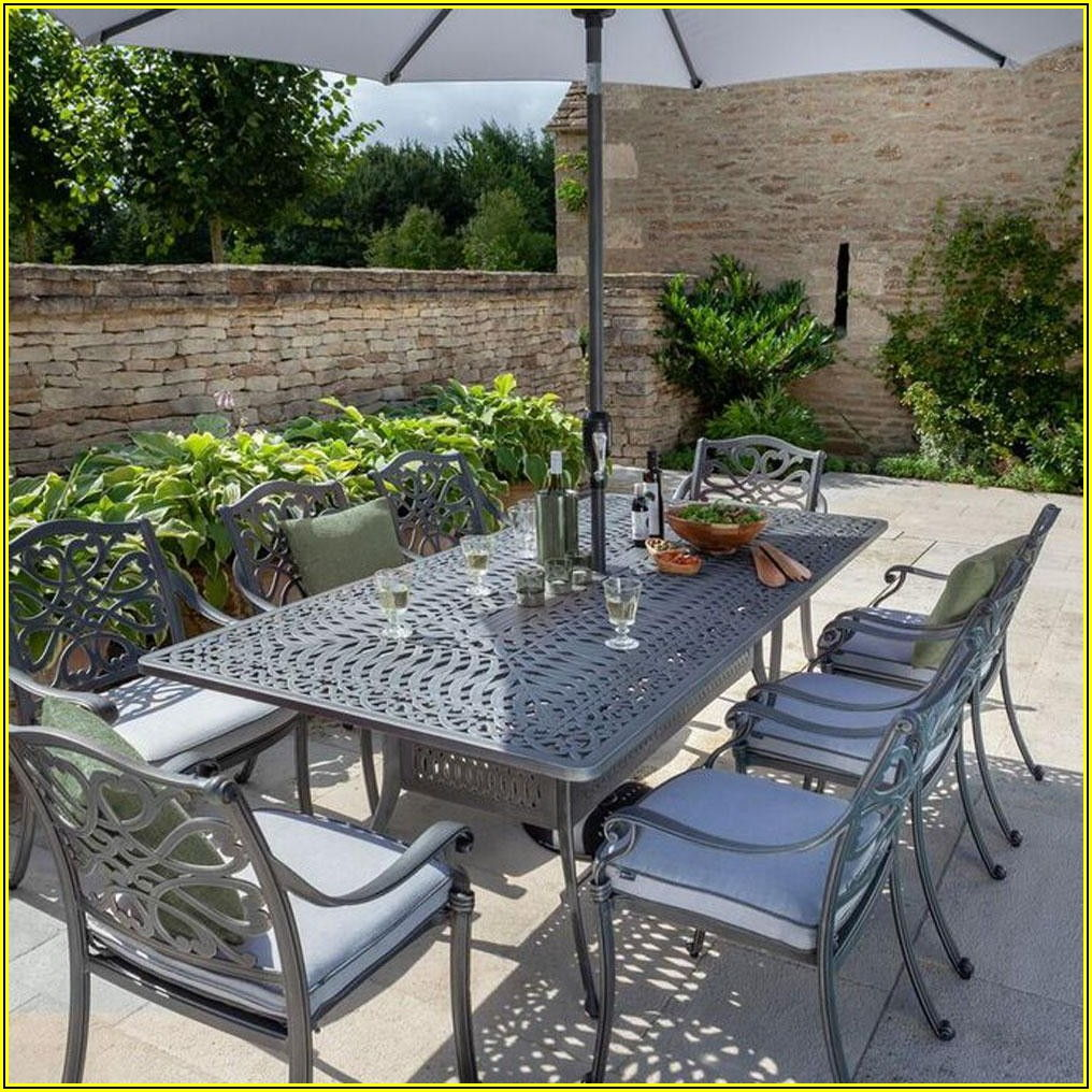 Patio Dining Table Seats 8