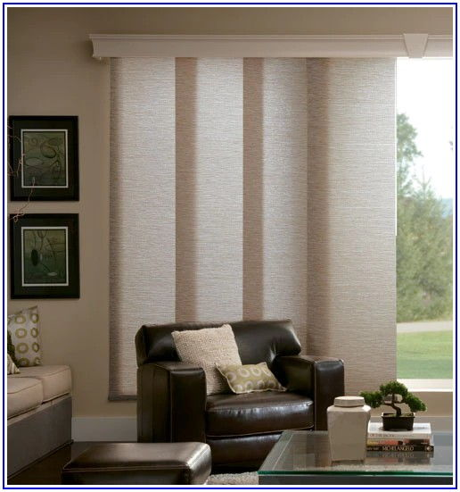 Patio Door Sliding Panel Track Blinds