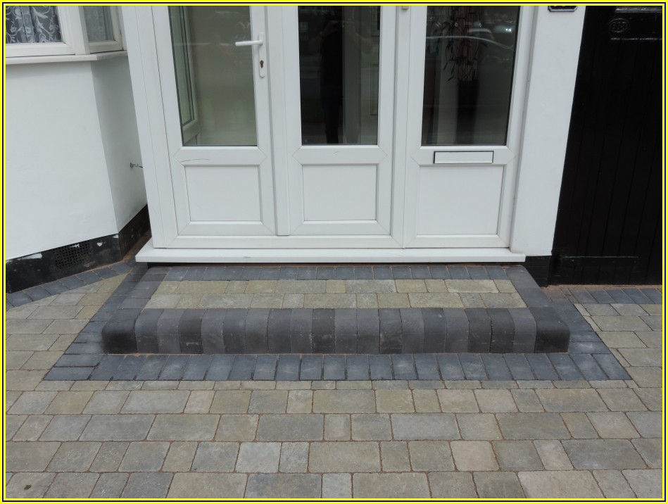 Patio Door Steps Ideas Uk