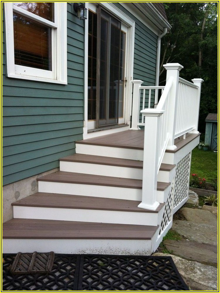 Patio Door Steps Ideas