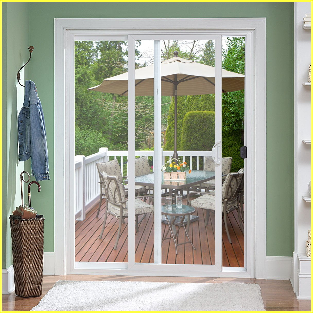 Patio Doors Without Glass