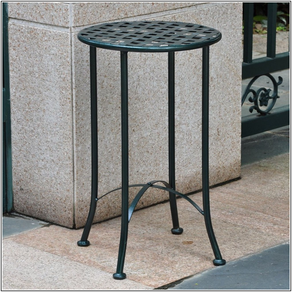 Patio End Tables Metal