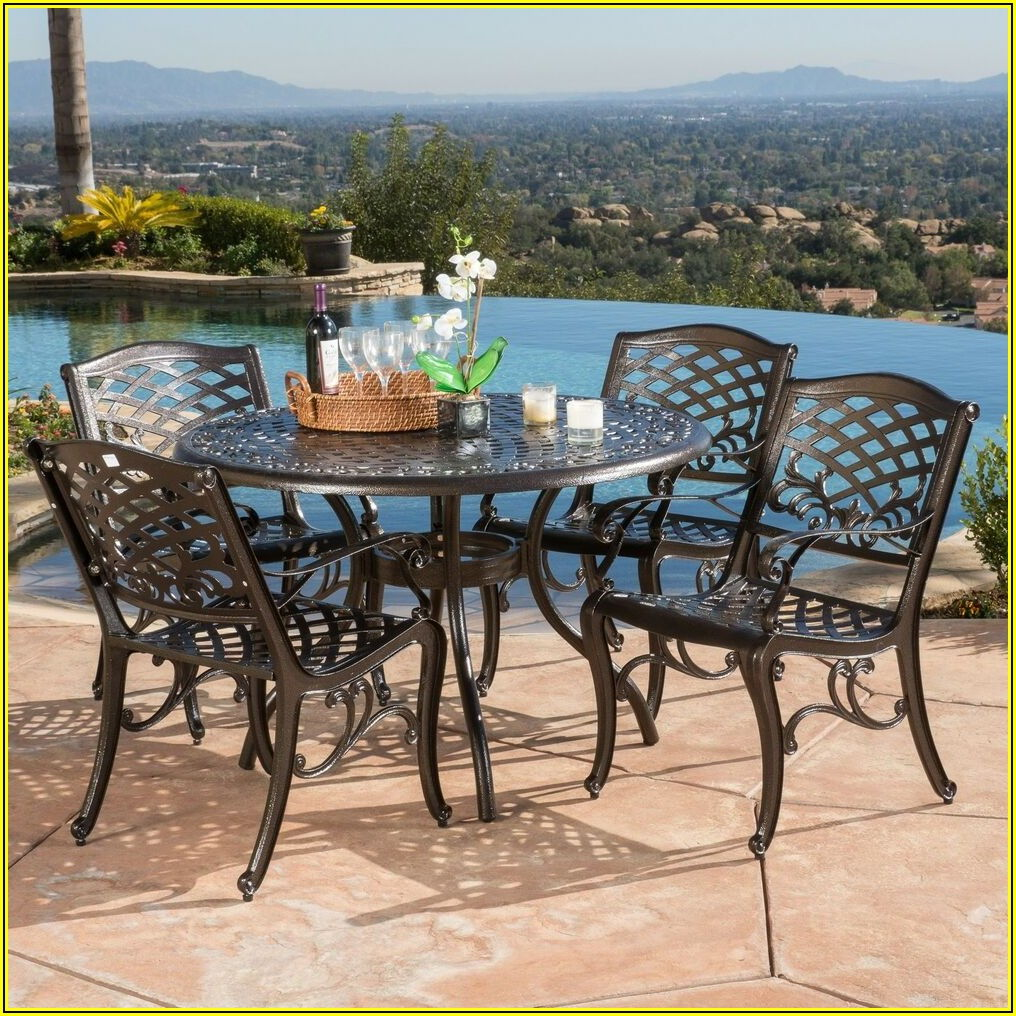 Patio Furniture 5 Piece Set