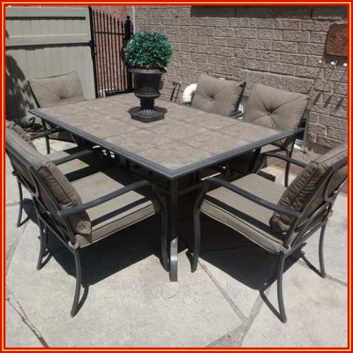 Patio Furniture 6 Chairs And Table