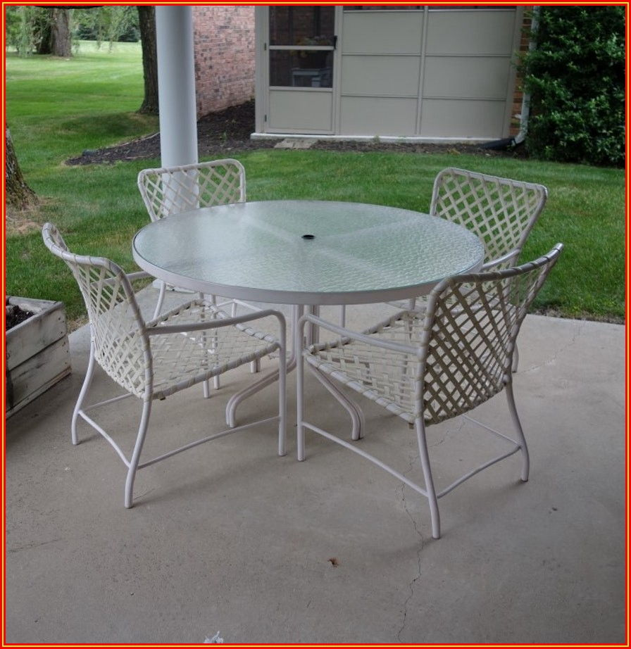 Patio Furniture Glass Table