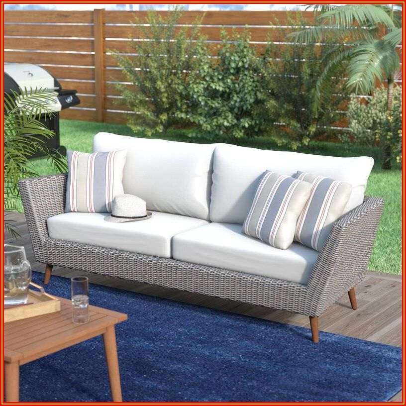 Patio Furniture Loveseat Cushions