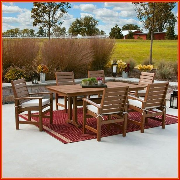 Patio Furniture Made From Recycled Milk Jugs
