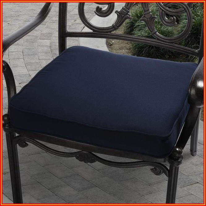 Patio Furniture Navy Cushions