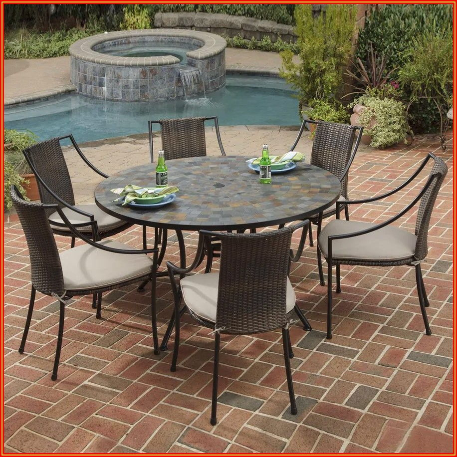 Patio Furniture Stone Top