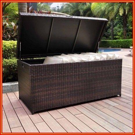 Patio Furniture Storage Bins