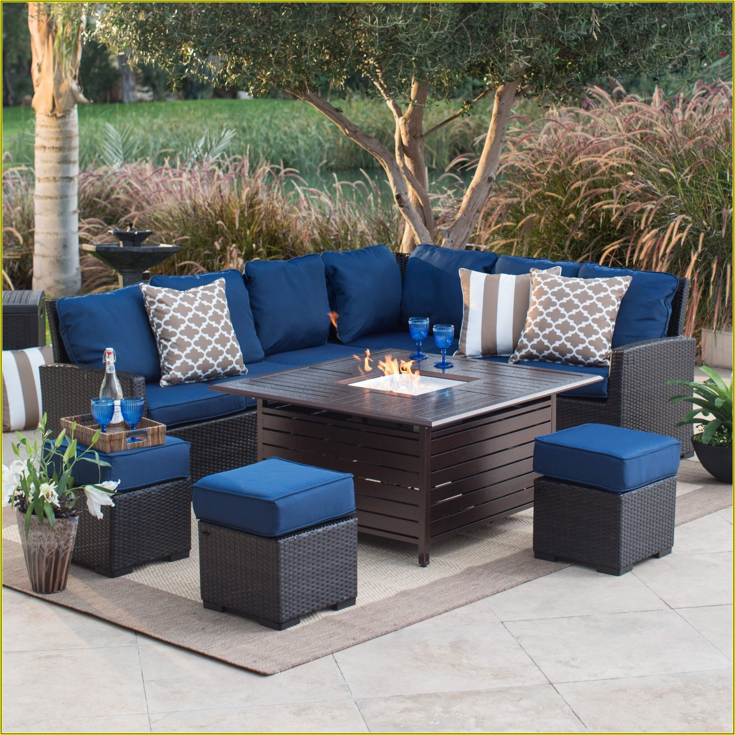 Patio Furniture With Fireplace
