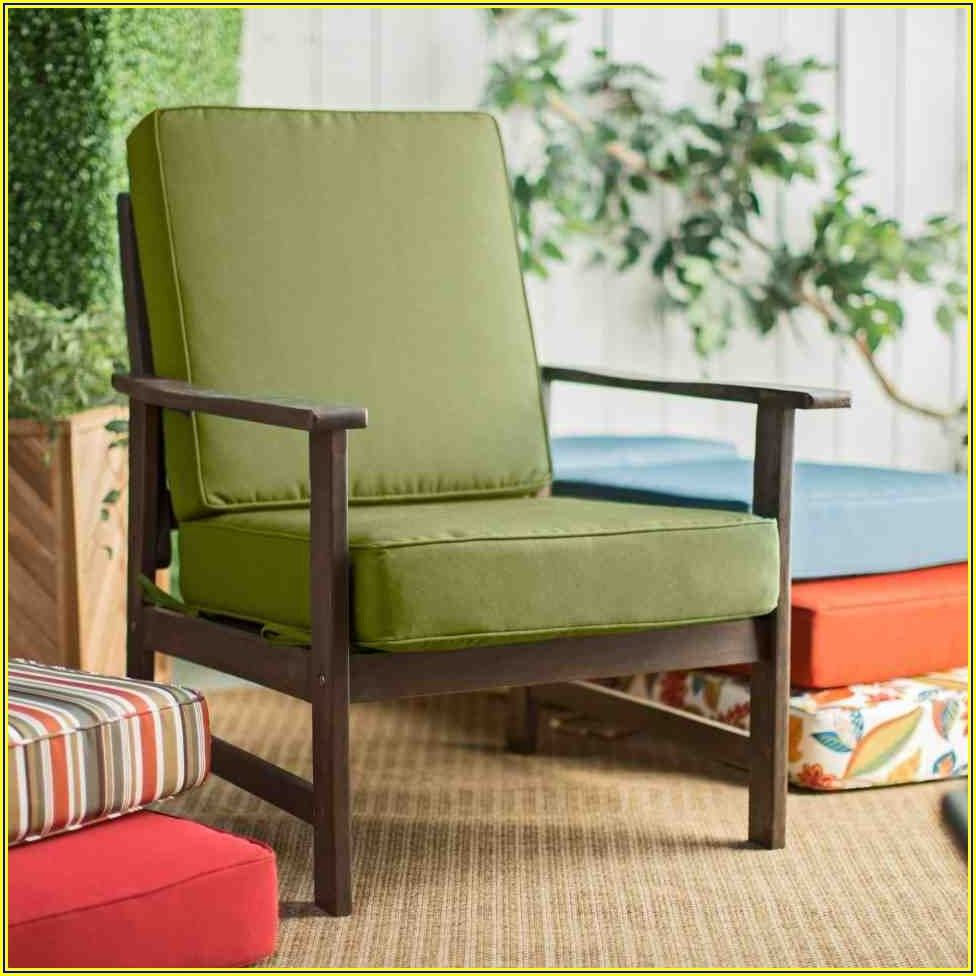 Patio Furniture With Green Cushions