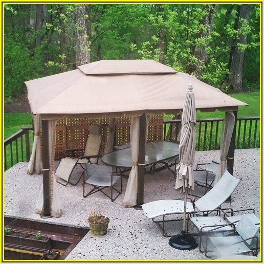 Patio Gazebo Replacement Covers