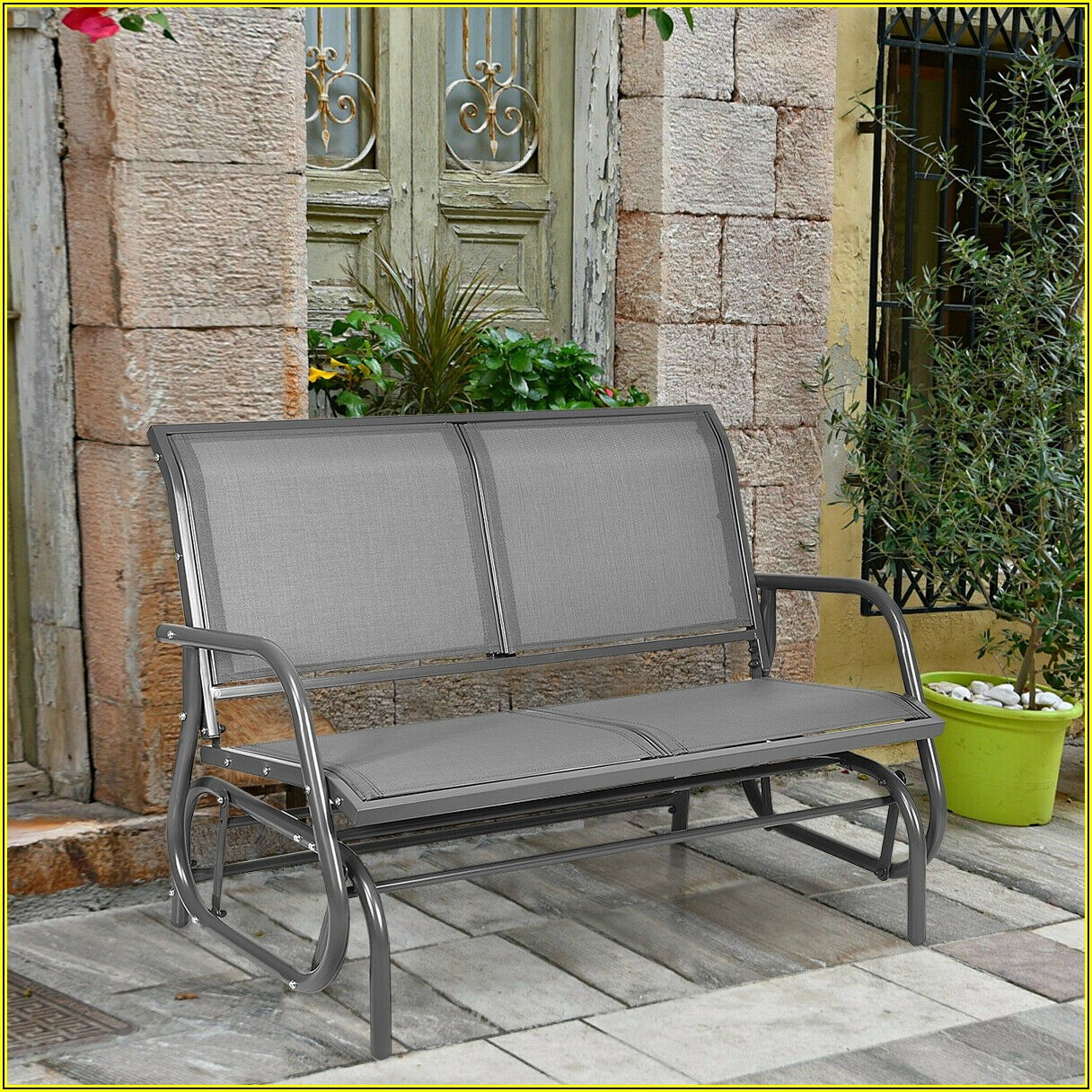 Patio Glider Loveseat Walmart