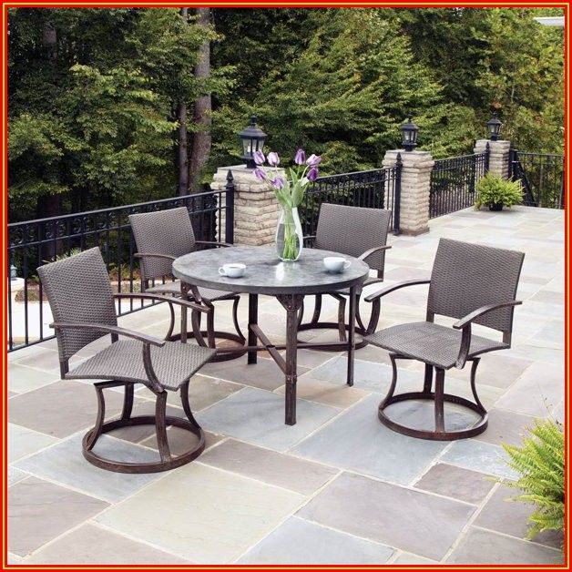 Patio High Dining Table