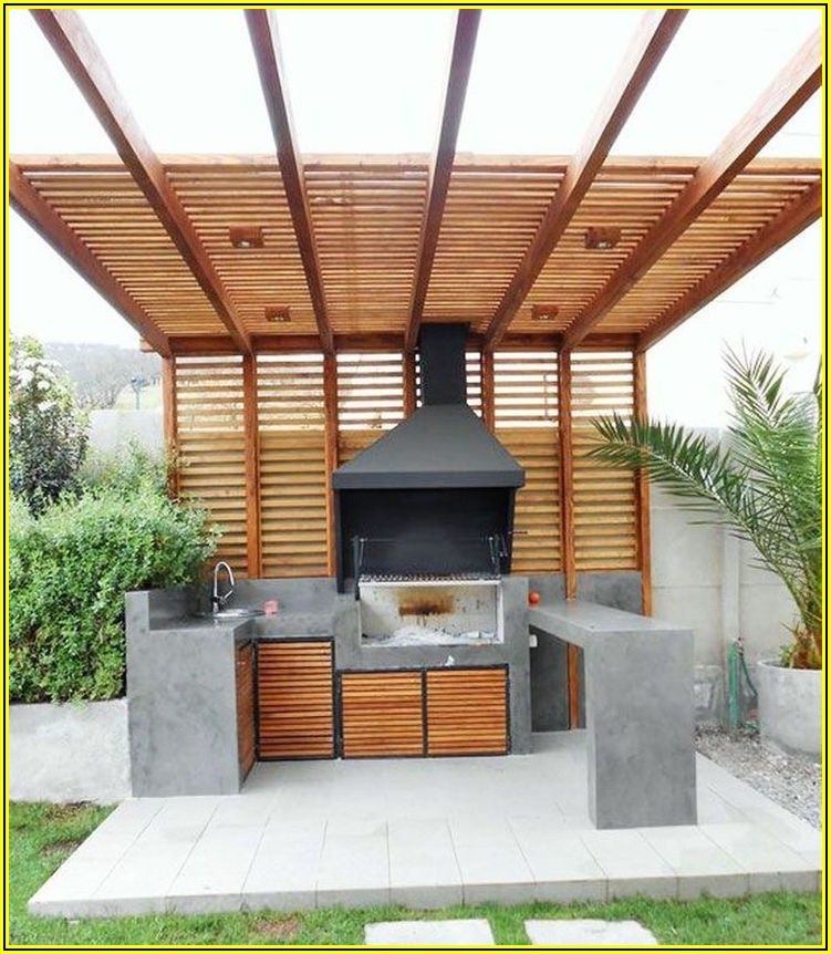 Patio King Pergola And Outdoor Kitchen