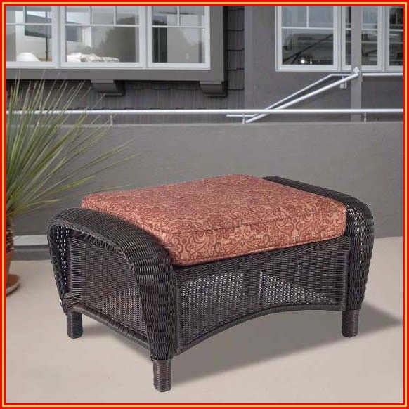 Patio Ottoman Replacement Cushion