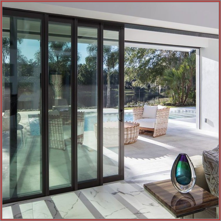 Patio Pocket Sliding Glass Doors