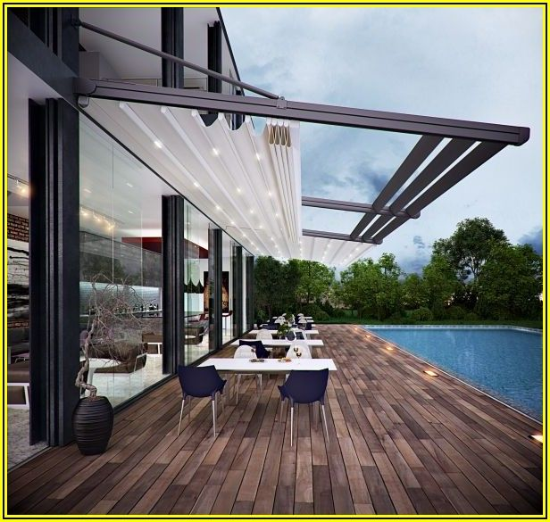 Patio Retractable Roof System