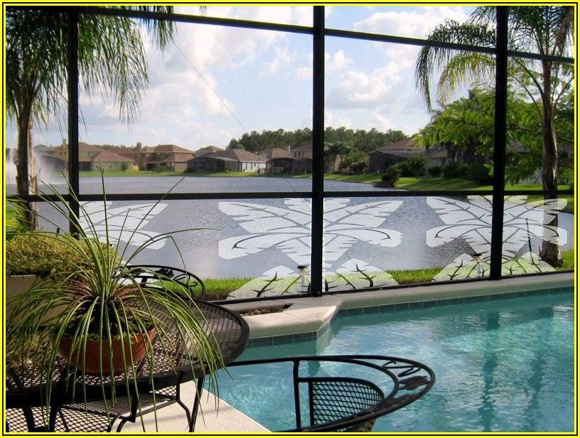 Patio Screens With Scenes