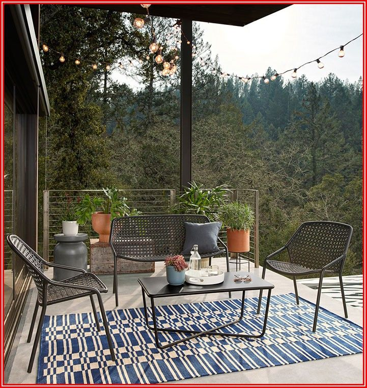 Patio Seating For Small Spaces